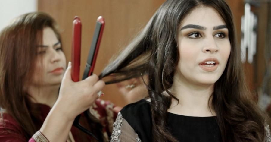 cuidar el cabello de una manera especial después de usar la plancha