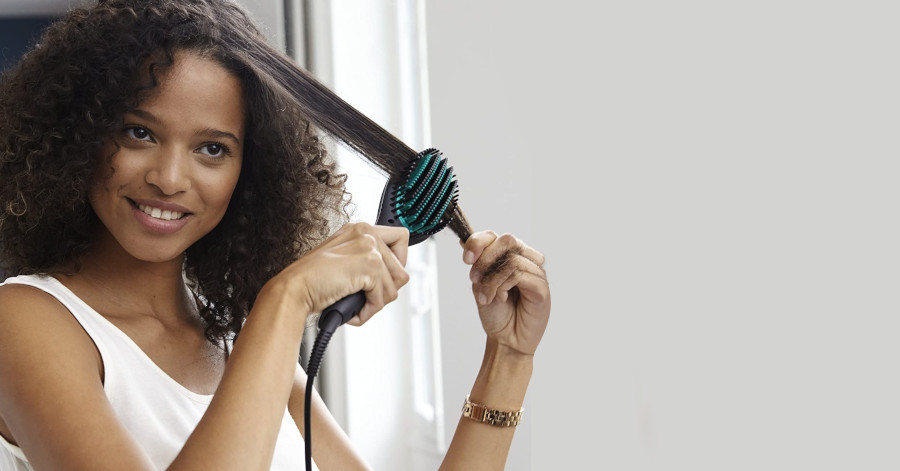 elegir cepillo alisador para el cabello